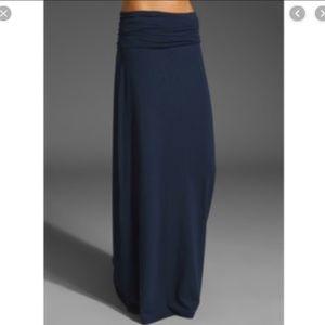 Splendid Maxi Skirt Fold over waist